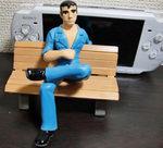 PSP-3000と阿部さん